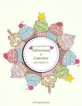 Omslag Livro para Colorir de Sobremesas e Cupcakes para Adultos 3