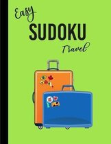 Easy Sudoku Travel: Puzzles Book for Adults and Kids - Activity Books Travel