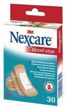 Nexcare™ Blood-Stop Bloedstop pleisters, beigeig, assortiment, 30 pleisters, N1730AS