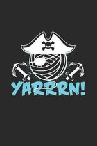 Yarrrn: 6x9 Knit & Crochetl - dotgrid - dot grid paper - notebook - notes