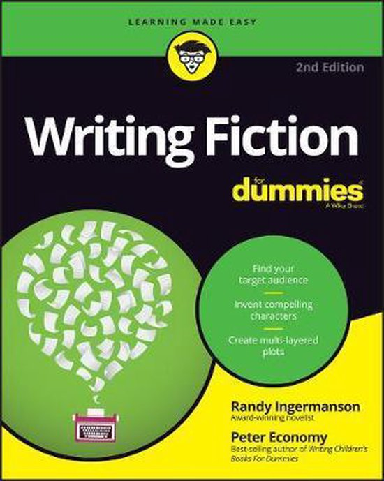 Boek cover Writing Fiction For Dummies van Randy Ingermanson (Paperback)