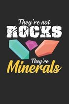 Minerals: 6x9 Minerals - grid - squared paper - notebook - notes