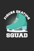 Figure skating squad: 6x9 Figure Skating - dotgrid - dot grid paper - notebook - notes