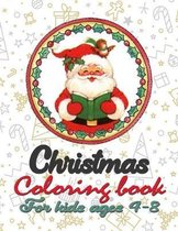 Christmas Coloring Book for Kids Ages 4-8: Funny Coloring Book with Cute Holiday Animals and Relaxing Christmas Scenes