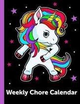 Weekly Chore Calendar: Kids Responsibility Tracker