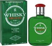 Whisky Origin Heren Parfum   Een subtiel Kuidige geur met Ceder, Kaneel, Muskus en Leder Eau de Toilette