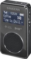Sangean DPR-35 - Mini Radio - Draagbare Radio met DAB+ en FM - Zwart