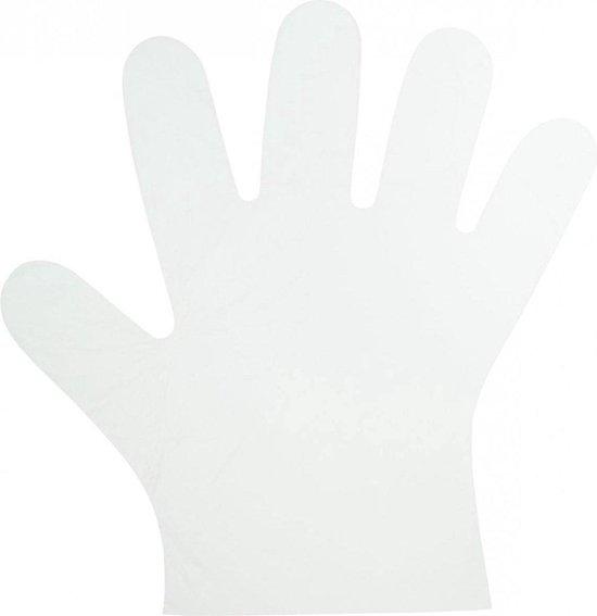Bol Com Plastic Wegwerp Handschoenen Voordeelverpakking Wegwerp Transparante Plastic