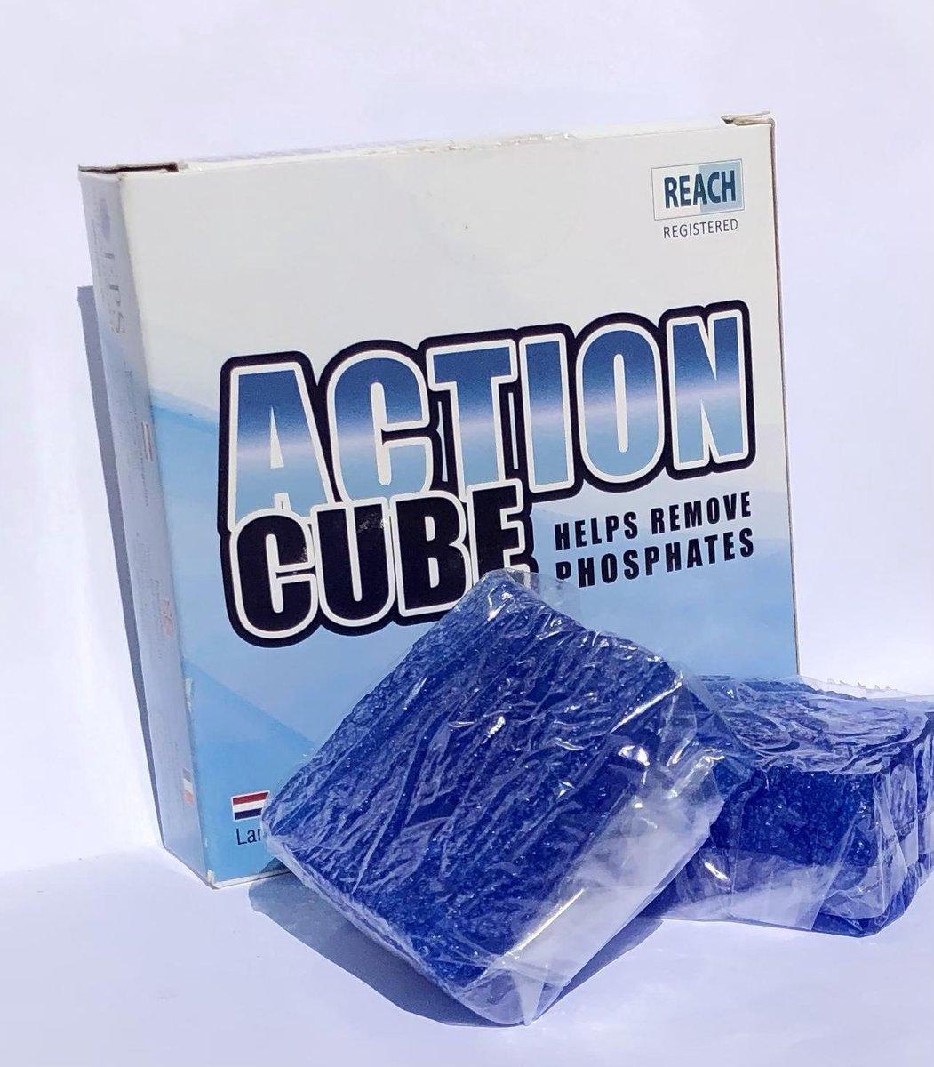 Action Cubes Gel Vlokmiddel voor zand/glasfilters Zwembad