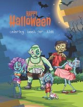 Happy Halloween: coloring book for kids