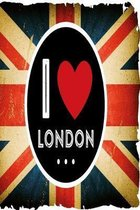 Notebook I love London: Notebook for London Fans