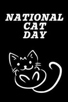 National Cat Day: October 29th - Kitty Cat Lovers - Gift For Cat Owners - Purr-fect - Whiskers - Tails - Furry Paws - Claws - Kittens -