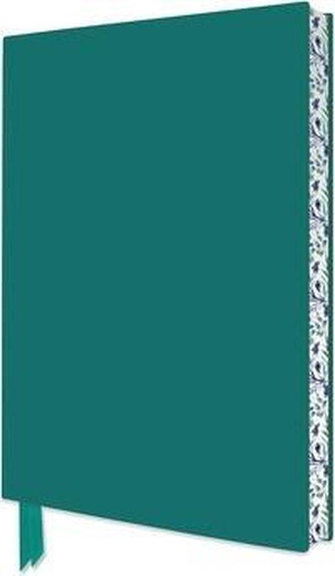 Teal Artisan Notebook (Flame Tree Journals)