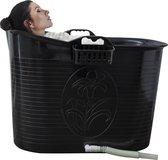 EKEO - Zitbad Voor Volwassenen - Bath Bucket - Zwart - 200L