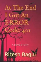 At The End I Got An ERROR Code