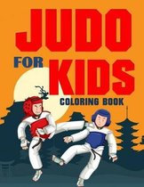 Judo for Kids Coloring Book