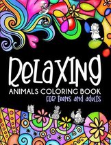Relaxing Animals Coloring Book