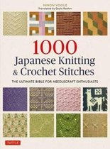 Boek cover 1000 Japanese Knitting & Crochet Stitches van Nihon Vogue