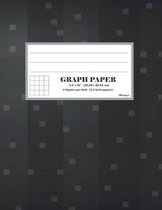 Graph Paper 4 Squares Per Inch: 1/4 Inch Squares Quad Ruled Graphing Composition Notebook
