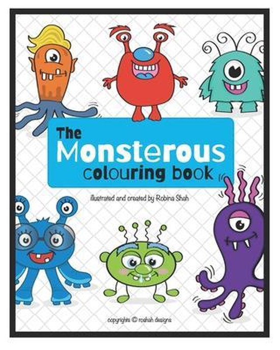 The Monsterous Colouring Book