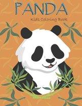 Panda Kids Coloring Book