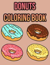 Donuts Coloring Book