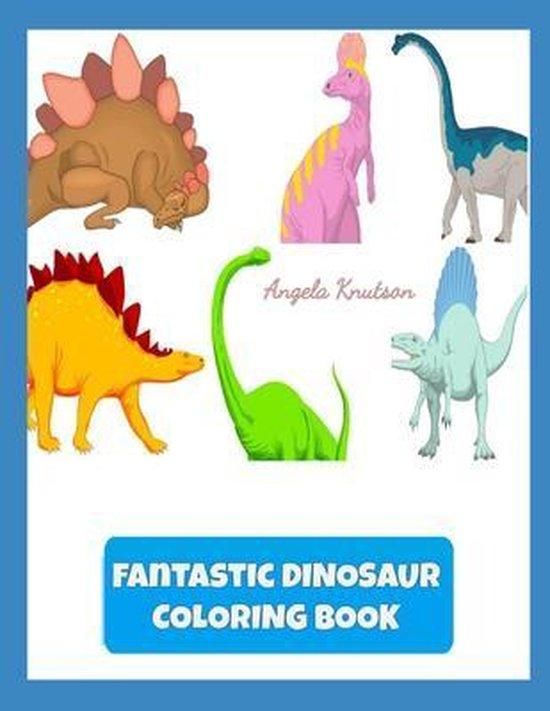 Fantastic Dinosaur Coloring Book