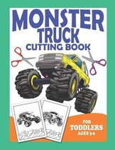 Monster Truck Cutting Book For Toddlers Ages 3-6