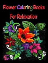 Flower Coloring Books For Relaxation
