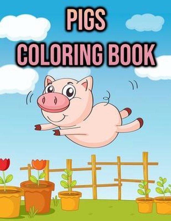 Pig Coloring Book