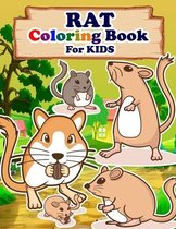RAT Coloring Book For Kids