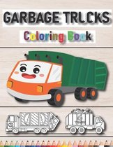Garbage Trucks Coloring Book
