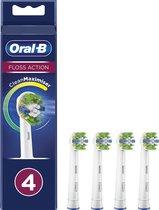 Oral-B FlossAction - Met CleanMaximiser-technologie - Opzetborstels - 4 Stuks