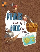 Pirate activity book for kids 5-7