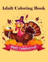Happy Thanksgiving! Adult coloring book