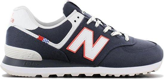 New Balance Classic 574 - Heren Sneakers Sport Casual schoenen Navy-Blauw  ML574SOP - Maat EU 45 US 11