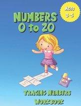 Number 0-20 Tracing Numbers Workbook