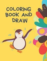 Coloring Book and draw