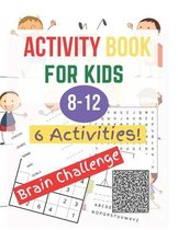 Activity Book for Kids 8-12