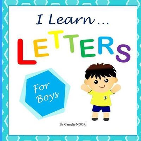 I Learn LETTERS (for boys)