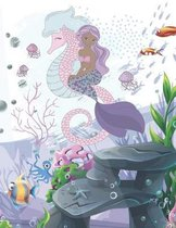 Mermaid Coloring and Activity Book Age 4-12