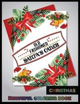Old Fashioned Santa's Canes CHRISTMAS BEAUTIFUL COLORING BOOK