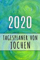 2020 Tagesplaner von Jochen: Personalisierter Kalender f�r 2020 mit deinem Vornamen