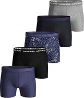 Björn Borg Cotton boxers - 5-pack uni en print -  Maat XXL
