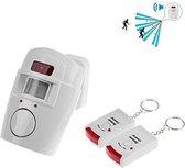 grundig sensor alarm met 2 afstandbedieningen