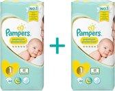 Pampers Premium Protection - Maat 1 (2-5kg) - 88 luiers (2x44)