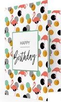 LocoMix - Muziekkaarten verjaardag - Verjaardag - Muziekwenskaart met geluid - Verjaardagskaart - Flamingo