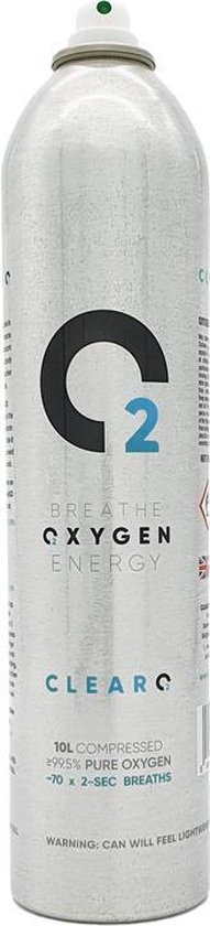 ClearO2 Zuurstoffles twinpack 10L - Mini zuurstofcilinder