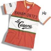 Bahamontes casual retro shirt   We ღ de koers!   Casual shirt geïnspireerd op het legendarische wielershirt van de La Casera wielerploeg - 100% katoen Heren T-shirt L