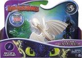 Hoe tem je een draak - dragon & rider Hiccup & Lightfury Legends Evolved